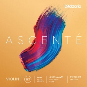 Daddario A310 4/4M Ascente violin set 4/4 medium struny do skrzypiec