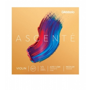 Daddario A310 1/2M Ascente violin set 1/2 medium struny do skrzypiec