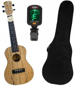 WestRoad UK-27 black maple ukulele koncertowe + pokrowiec + stroik