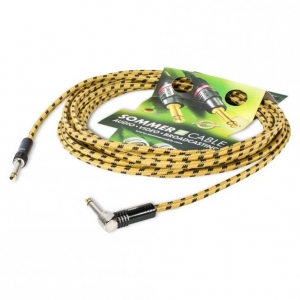 Sommer Cable CQJZ-0600-GE - kabel instrumentalny, gitarowy 6m